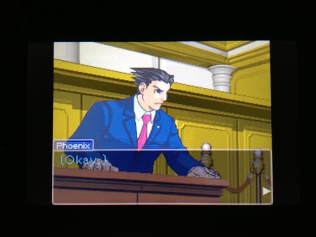 逆転裁判 北米版 マヤ法廷 ベルボーイ証言34