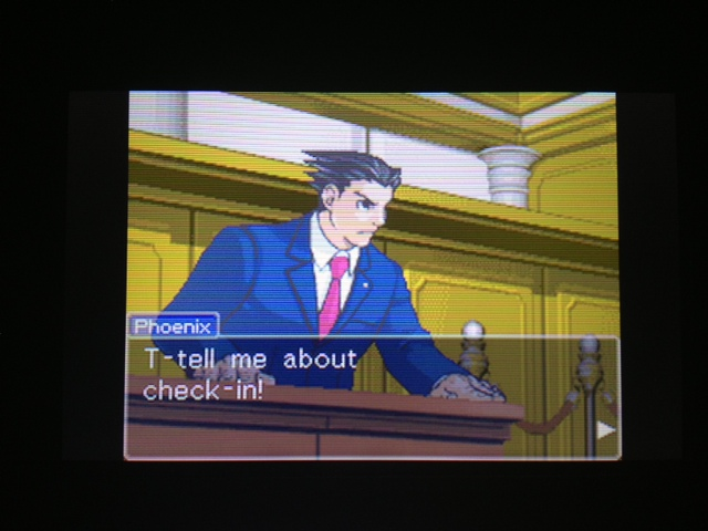 逆転裁判 北米版 マヤ法廷 ベルボーイ証言37