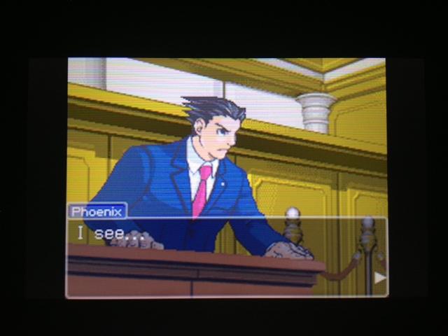 逆転裁判 北米版 マヤ法廷 ベルボーイ証言39