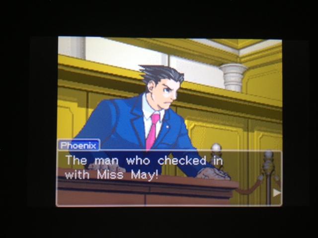 逆転裁判 北米版 マヤ法廷 ベルボーイ証言65