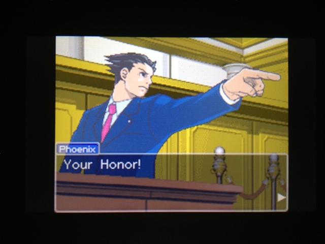 逆転裁判 北米版 マヤ法廷 ベルボーイ証言67