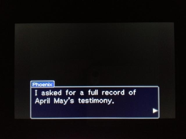 逆転裁判 北米版 マヤ法廷 休廷後16