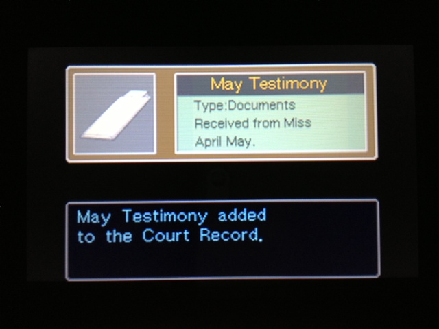 逆転裁判 北米版 マヤ法廷 休廷後17