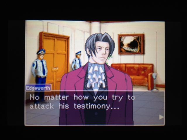 逆転裁判 北米版 フェニックス法廷9
