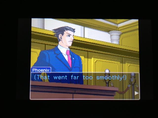 逆転裁判 北米版 フェニックス法廷38