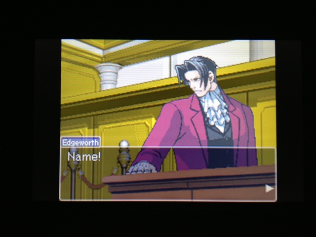 逆転裁判 北米版 フェニックス法廷46