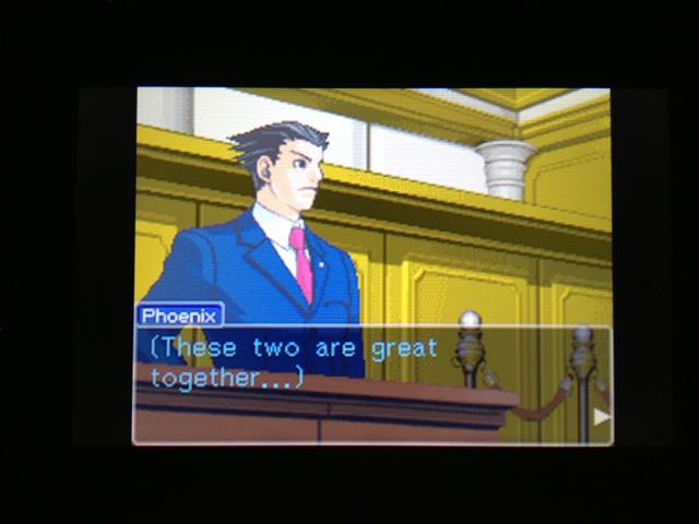逆転裁判 北米版 フェニックス法廷47