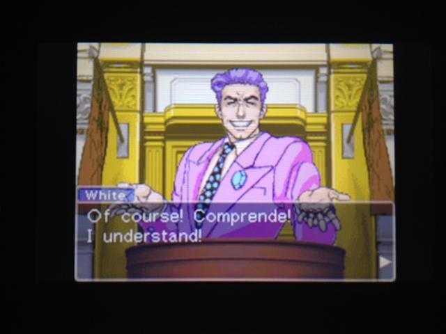 逆転裁判 北米版 フェニックス法廷75