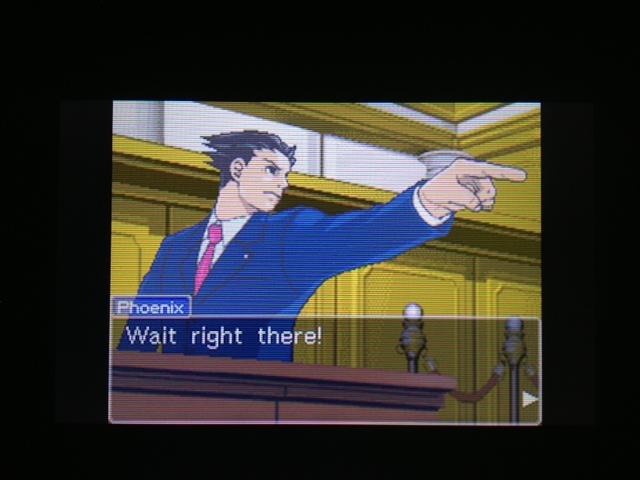 逆転裁判 北米版 フェニックス法廷83