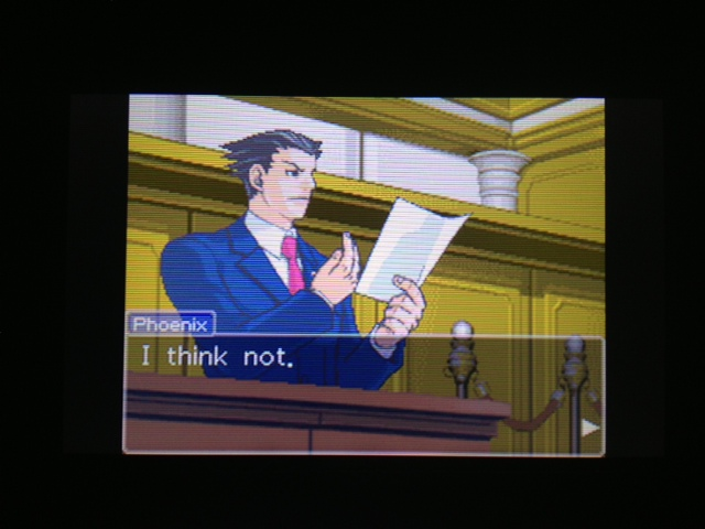 逆転裁判 北米版 フェニックス法廷89