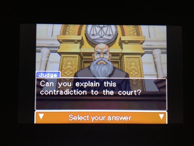 逆転裁判 北米版 フェニックス法廷103