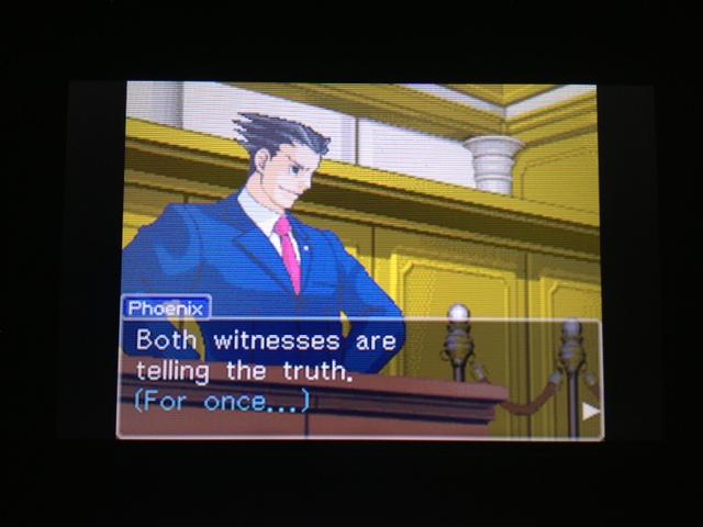 逆転裁判 北米版 フェニックス法廷105