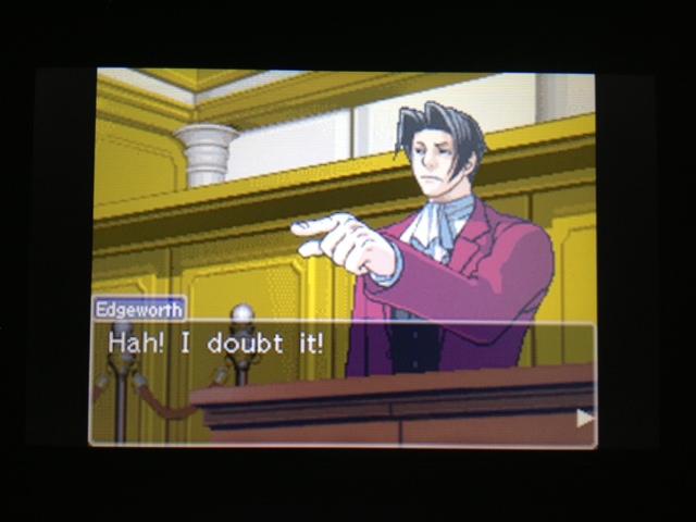 逆転裁判 北米版 フェニックス法廷106