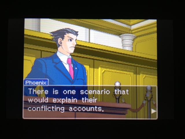 逆転裁判 北米版 フェニックス法廷107