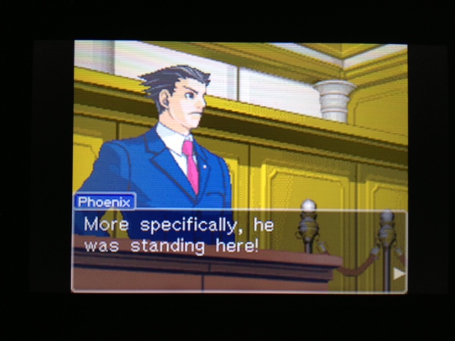 逆転裁判 北米版 フェニックス法廷114