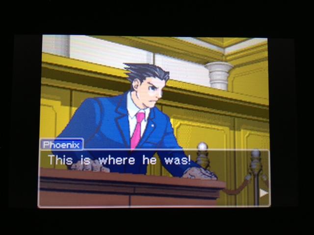 逆転裁判 北米版 フェニックス法廷117
