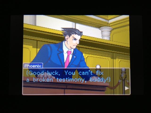 逆転裁判 北米版 フェニックス法廷134