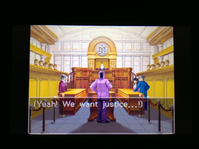 逆転裁判 北米版 フェニックス法廷158