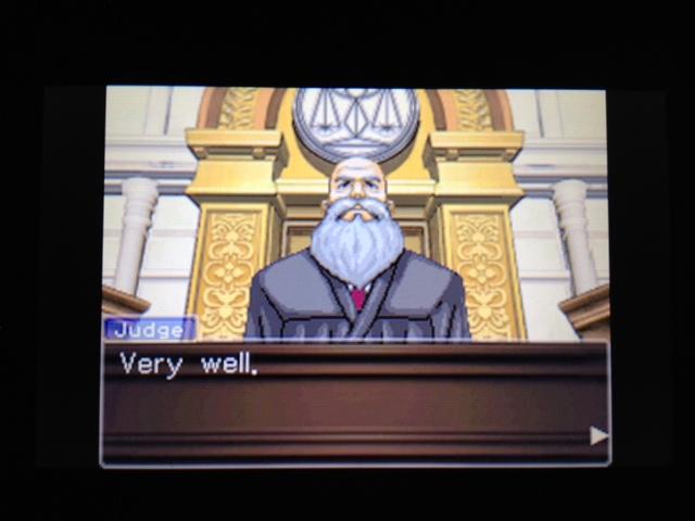 逆転裁判 北米版 フェニックス法廷160