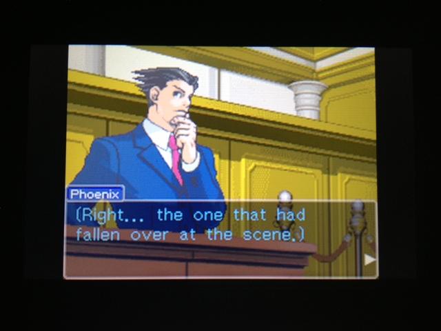 逆転裁判 北米版 フェニックス法廷178