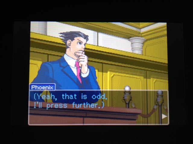 逆転裁判 北米版 フェニックス法廷180