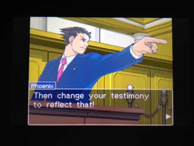 逆転裁判 北米版 フェニックス法廷185