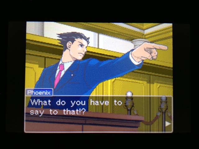 逆転裁判 北米版 フェニックス法廷220