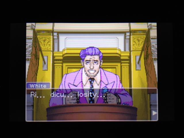 逆転裁判 北米版 フェニックス法廷222