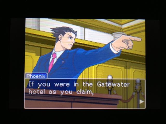 逆転裁判 北米版 フェニックス法廷224