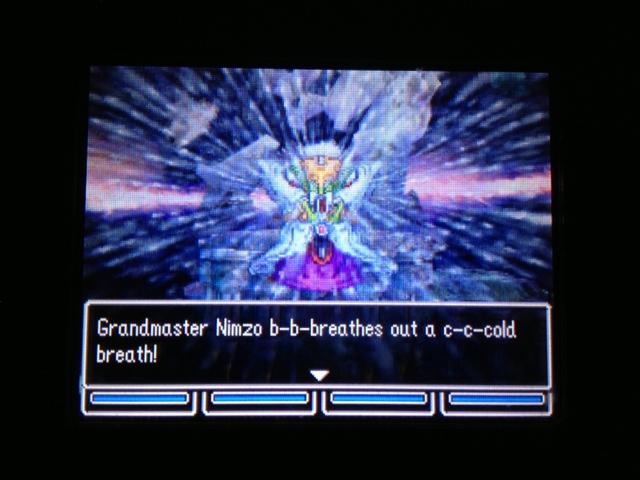 ドラクエ5 北米版 ニムゾ戦闘2
