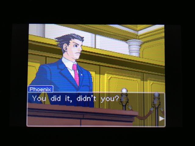 逆転裁判 北米版 フェニックス法廷235