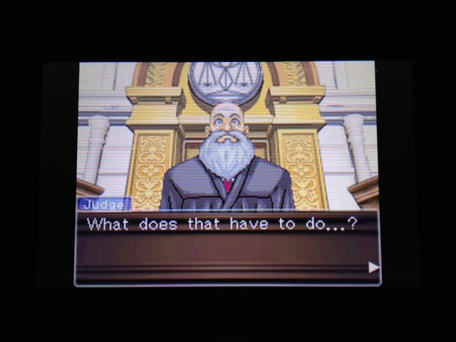 逆転裁判 北米版 フェニックス法廷252