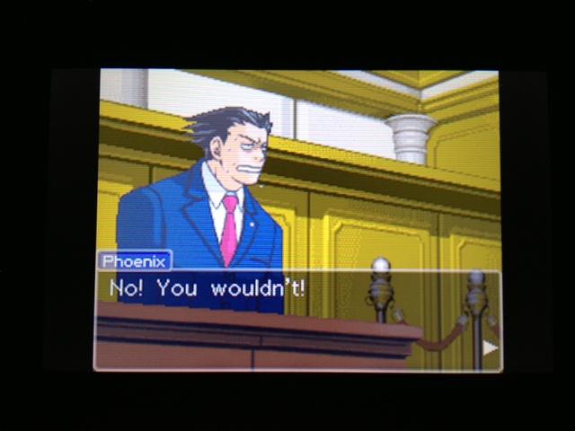 逆転裁判 北米版 フェニックス法廷255