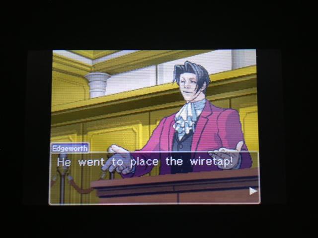 逆転裁判 北米版 フェニックス法廷275