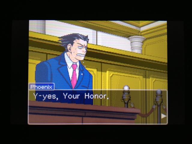 逆転裁判 北米版 フェニックス法廷313