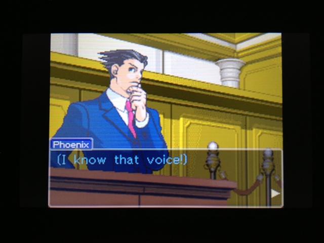 逆転裁判 北米版 フェニックス法廷317