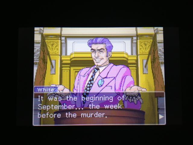 逆転裁判 北米版 フェニックス法廷362