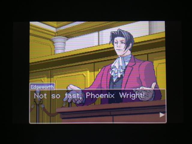 逆転裁判 北米版 フェニックス法廷再開47