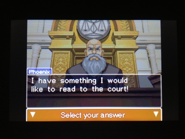 逆転裁判 北米版 フェニックス法廷再開83
