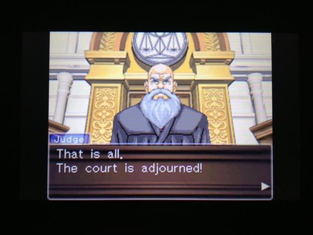 逆転裁判 北米版 フェニックス法廷再開109