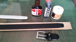 ヒデ 黒ベルト修理②2013.8.30