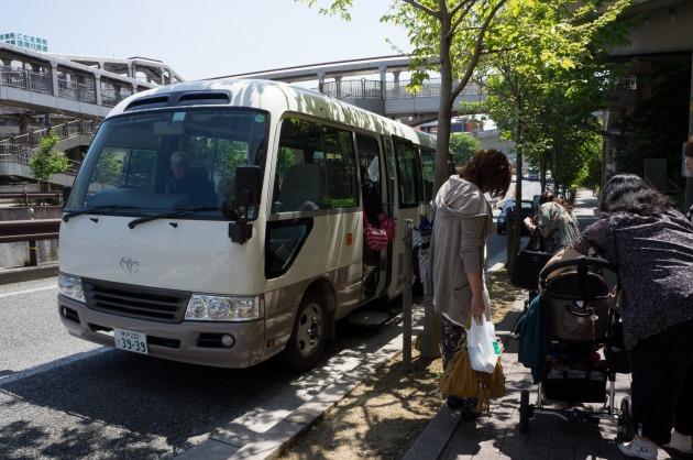 BBQオフ会2【送迎バスで会場へ】-3