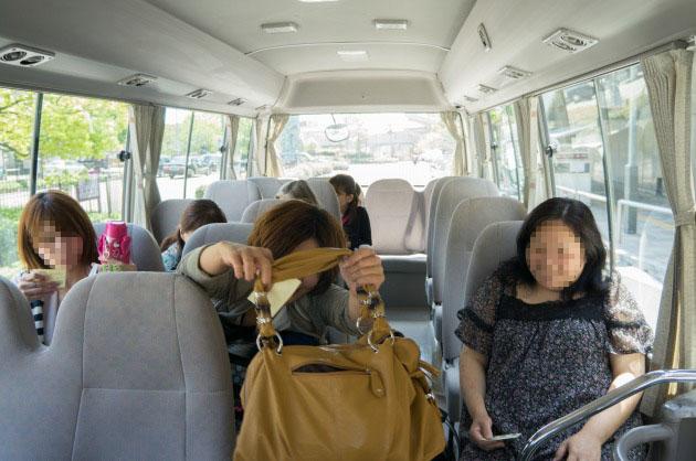 BBQオフ会2【送迎バスで会場へ】-4
