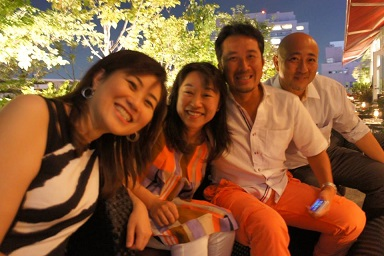 Miki, Takuji, Yuichi and I