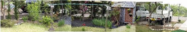 2013年5月の庭