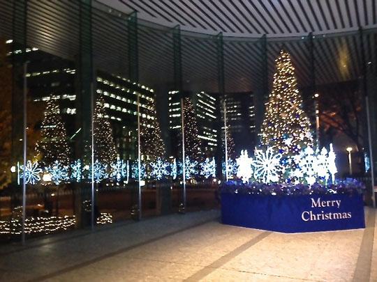 西新宿雪ツリー