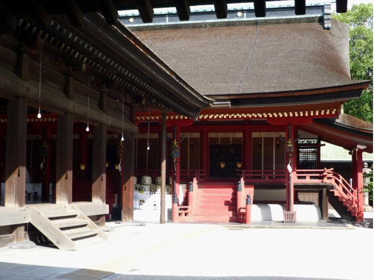 グラフィックス3筥崎宮拝殿本殿