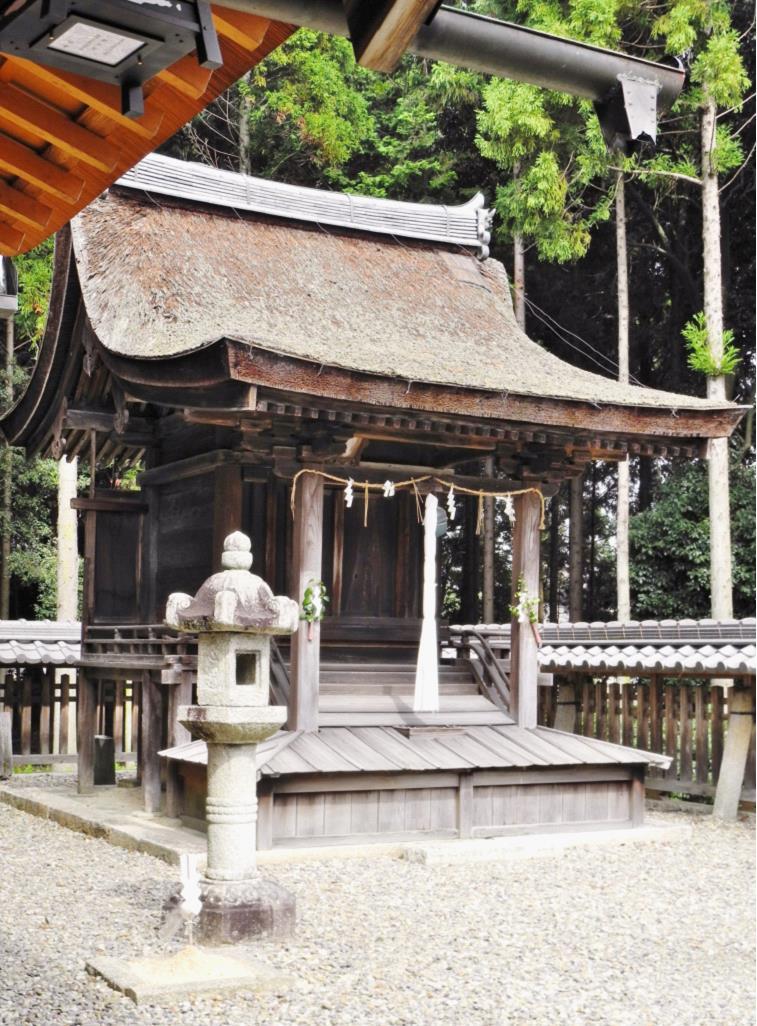 2013苗村神社十禅師神社本殿