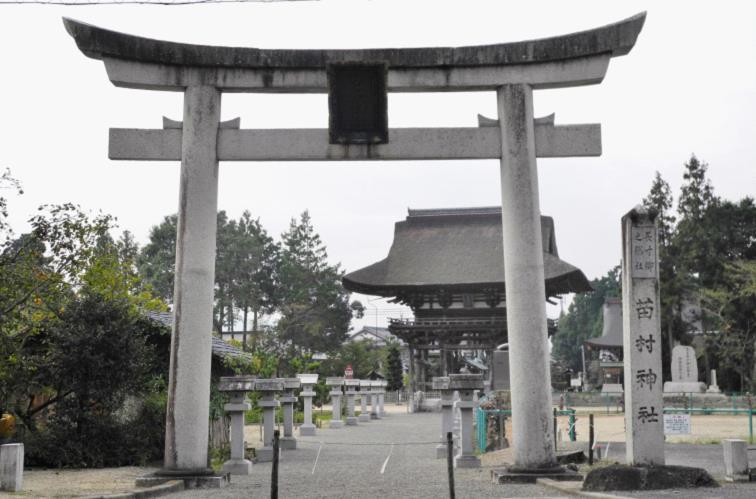 2013苗村神社参道