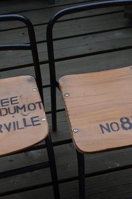 幼稚園椅子リメイク